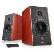 Caixa de Som Edifier R2000DB 120W RMS, Monitor de áudio, Bluetooth, Bivolt, Madeira