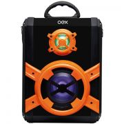 Caixa de Som Portátil OEX Speaker BLAST SK600 80W, Entrada Micro SD, USB, Auxiliar ,bluetooth, Microfone