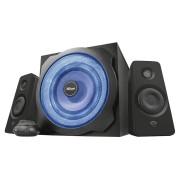 Caixa de Som Trust GXT 628 Tytan 2.1 60W LED Azul