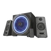 Caixa de Som Trust GXT 688 Torro 2.1 60W LED Azul