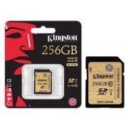 Cartão de Memória Kingston 256GB Classe 10 SDA3/256GB