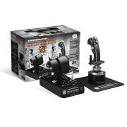 Combo Joystick Flight Stick + Throttle Thrustmaster Hotas Warthog para PC