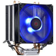 Cooler para Processador PCYES Zero K Z2 92MM INTEL/AMD LED AZUL ACZK292LDA