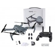 Drone DJI Mavic PRO Cinza CP.PT.000500 Homologado Pela  Anatel