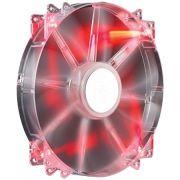 Fan 200MM Cooler Master Megaflow LED Vermelho R4-LUS-07AR-GP