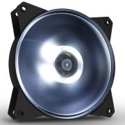 Fan Cooler 120MM Cooler Master Masterfan MF120L LED Branco R4-C1DS-12FW-R1