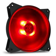Fan Cooler 120MM Cooler Master Masterfan MF120L LED Vermelho R4-C1DS-12FR-R1