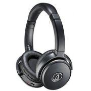 Fone de Ouvido C/ Microfone Audio Technica ATH-ANC50iS Preto c/ Cancelamento de Ruído