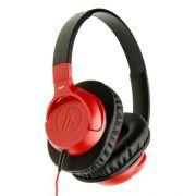 Fone de Ouvido C/ Microfone Audio Technica SonicFuel Vermelho ATH-AX1iSRD