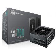 Fonte 750W Cooler Master MWE GOLD 750 80 PLUS GOLD Modular MPY-7501-AFAAG-WO