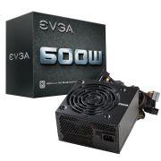 Fonte ATX 600W EVGA 80 PLUS 100-W1-0600-K0