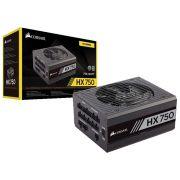 Fonte ATX 750W Corsair HX750 80 PLUS Platinum Modular CP-9020137-WW