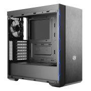 Gabinete Cooler Master Masterbox MB600L com Borda AZUL MCB-B600L-KANN-S01