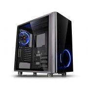 Gabinete Gamer Thermaltake View 31 TG Preto C/ FAN LED AZUL CA-1H8-00M1WN-00