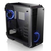 Gabinete Gamer Thermaltake View 71 TG Preto C/ FAN LED AZUL CA-1I7-00F1WN-00
