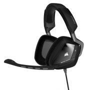 Headset / Fone com Microfone Gamer Corsair Void RGB DOLBY 7.1 USB Preto CA-9011130-AP