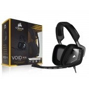 Headset / Fone com Microfone Gamer Corsair Void RGB DOLBY 7.1 USB Preto CA-9011130-NA