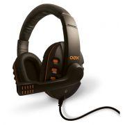 Headset / Fone com Microfone Gamer OEX Action HS200 PRETO/LARANJA