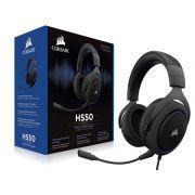 Headset Gamer Corsair HS50 Stereo Preto com AZUL CA-9011172-NA