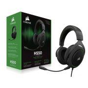 Headset Gamer Corsair HS50 Stereo Preto com Verde CA-9011171-NA
