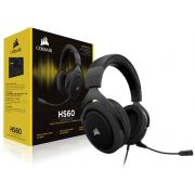 Headset Gamer Corsair HS60 Virtual 7.1 Surround Carbon CA-9011173-NA