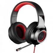 Headset Gamer Edifier G4 7.1 Virtual Preto com Vermelho G4-RED