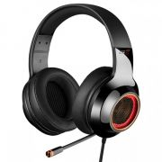Headset Gamer Edifier G4 PRO 7.1 Virtual, LED RGB, Preto p/ PC e PS4