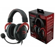 Headset Gamer HYPERX Cloud II PRETO/VERMELHO KHX-HSCP-RD P/ PC e PS4