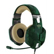 Headset Gamer Trust Carus Jungle Camo GXT 322C  para PC e Consoles T20865
