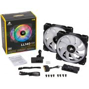 Kit 2 Unidades FAN Cooler Corsair LL140 RGB LED 140MM CO-9050074-WW