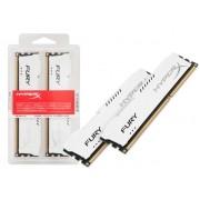 Memória DDR3 16GB (KIT 2X8GB) 1866MHZ HYPERX FURY Branca HX318C10FWK2/16