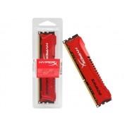 Memória RAM 8GB DDR3 1600MHZ HYPERX Savage Vermelha HX316C9SR/8