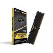 Memória DDR4 16GB 2400MHZ Corsair Vengeance LPX Preta CMK16GX4M1A2400C16