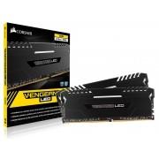 Memória DDR4 32GB (KIT 2X16GB) Corsair 3000MHZ Vengeance LED Branco C15 CMU32GX4M2C3000C15