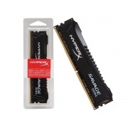 Memória RAM 8GB DDR4 2400MHZ HYPERX Savage Preta HX424C12SB2/8