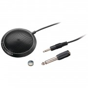 Microfone Audio Technica ATR4697 Condensador, Omnidirecional, Perfil Baixo