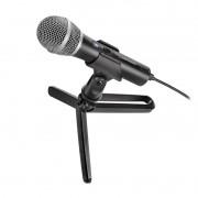 Microfone Cardioide Dinâmico Audio Technica ATR2100X-USB