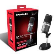 Microfone Condensador AverMedia AM310 USB