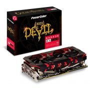 Placa de Vídeo AMD Radeon Power Color RX 580 RED Devil Golden 8GB DDR5 AXRX580 8GBD5-3DHG/OC