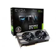 Placa de Vídeo Nvidia EVGA Geforce GTX 1070 FTW 8GB DDR5 256-BIT 08G-P4-6276-KR