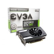 Placa de Vídeo Nvidia EVGA Geforce GTX 960 4GB DDR5 128-BIT 04G-P4-3961-KR