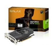Placa de Vídeo Nvidia Galax Geforce GTX 1050 TI OC 4GB DDR5 50IQH8DSN8OC
