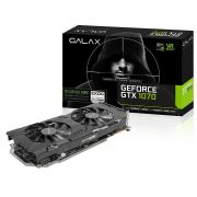Placa de Vídeo Nvidia Galax Geforce GTX 1070 EXOC-SNPR BLACK 8GB DDR5 256-BIT