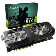 Placa de Vídeo Nvidia Galax Geforce RTX 2070 OC 8GB DDR6 PCI-E 3.0 27NSL6MPX2VE