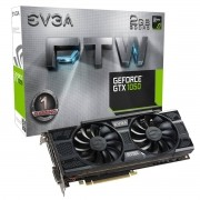 Placa de Vídeo Nvidia Geforce EVGA GTX 1050 FTW Gaming 2GB GDDR5 128-BIT 02G-P4-6157-KR