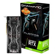Placa de Vídeo Nvidia Geforce Gainward RTX 2080 Phantom GLH 8GB GDDR6 NE62080H20P2-1040P