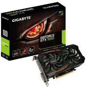 Placa de Vídeo Nvidia Geforce Gigabyte GTX 1050 OC Edition 2GB GDDR5 GV-N1050OC-2GD