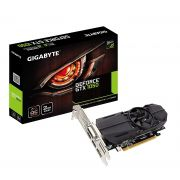 Placa de Vídeo Nvidia Gigabyte Geforce GTX 1050 OC LOW Profile 2GB DDR5 GV-N1050OC-2GL