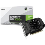 Placa de Vídeo Nvidia PNY Geforce GTX 1050 TI 4GB DDR5 VCGGTX1050T4PB