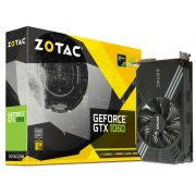 Placa de Vídeo Nvidia Zotac Geforce GTX 1060 6GB DDR5 ZT-P10600A-10L